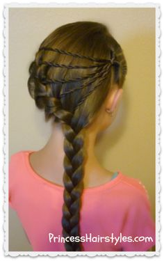 shooting star braid #hairstyle tutorial