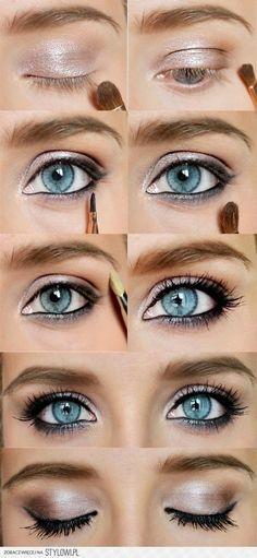 Makeup eye nude #makijaż