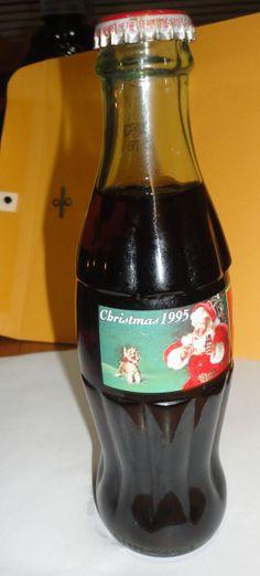 1995 Classic Coca Cola 8 oz Bottle Coke by PatsapearlsBoutique, $6.99