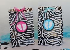 baby shower favor bags boy or girl ONE dozen in this by missdaisyw, $18.00