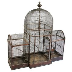 1stdibs - Regency Mahogany Bird Cage explore items from 1,700 global dealers at 1stdibs.com