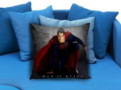 Superman Man Of Steel Movie  These soft pillowcase made of 50% cotton, 50% polyester.  It would be perfect to decorate your home by using our super soft pillow cases on sofa, chair, bench or bed.  Customizable pillow case is both comfortable and durable, improving the quality of your sleep with these comfortable pillow case, take it home now!  Custom Zippered Pillow Cases available in 7 different size (16″x16″, 18″x18″, 20″x20″, 16″x24″, 20″x26″, 20″x30″, 20″x36″)
