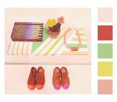 #color #palette #deco #shoes #inspiration #pastel #pattern
