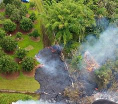 Lava flow advances; 40-50 homes in projected impact path - Hawaii News Now - KGMB and KHNL