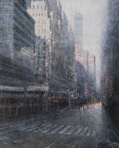 "Saatchi Art Artist antonio sannino; Painting, ""Termini Station"" #art"