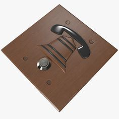 Door Bell 2 3D 3Ds - 3D Model