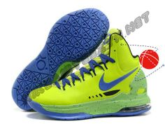 Nike Zoom KD V Volt Blue Black Halloween Discounts
