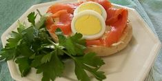 Norwegian Smoked Salmon on Bagel