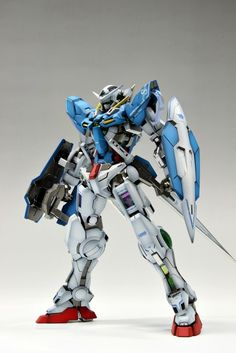 MG GN-001 Gundam Exia Gundam Exia, Gundam 00, Gundam Toys, Armored Core, Gundam Mobile Suit, Four Kids, Frame Arms, Gunpla Custom, Suit Of Armor