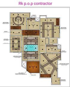 Pop Design, Wall Design, House Design, Gypsum Design, New Ceiling Design, Sims Freeplay Houses, Interior Ceiling Design, Home Panel, Interior Design Presentation