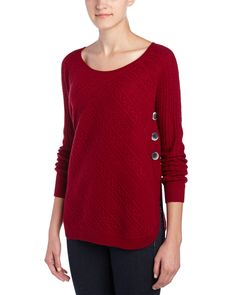Spotted this InCashmere Cabled Cashmere Sweater on Rue La La. Shop (quickly!).
