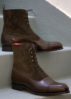Bota tipo Oxford