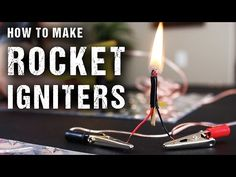 How to Make Rocket Igniters (Electric Matches) - YouTube