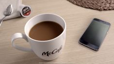 You Have 1 Notification: Nothing comes before coffee. The perfectly balanced flavor of McCafé coffee is available in bags, K-Cup Pods & canisters wherever groceries are sold. Made with 100% Arabica beans, it's a delicious way to ignore all the other noise in your life, if even for a moment.