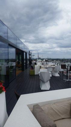 Only rooftop bar in Dublin, The Marker Hotel, Dublin