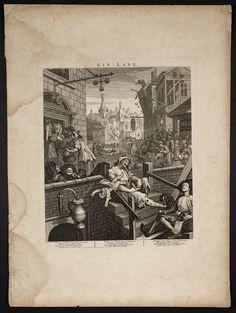 William Hogarth, 'Gin Lane' 1751 I love cross hatch. Line drawing. William Hogarth, Creative Writing Workshops, Joseph Mallord William Turner, Italian Paintings, Tate Britain, Art Terms, Types Of Painting, Vintage World Maps, Art Prints