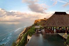 The Bulgari Resort in Bali speaks a hybrid design language, combining traditional Balinese shapes and high class Italian style in an unforgettable destination
