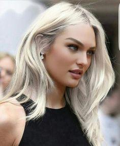Candice ice platinum hair