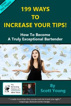 199 ways to increase your tips as a bartender