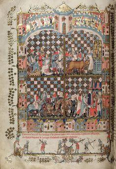 folio 88 verso-The Romance of Alexander - MS. Bodl. 264 © Bodleian Library-University of Oxford 1999