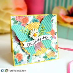 Love this card so much! (: @stampcatwg and @brendawalton) by sizzix