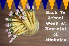 Back To School Week