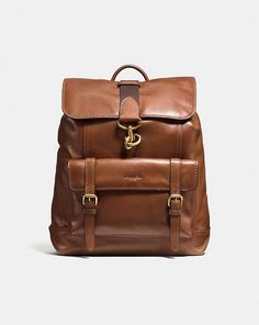 a649f6bcc BLEECKER BACKPACK IN SPORT CALF LEATHER - Alternate View Coach Men, Men's  Backpack, Leather