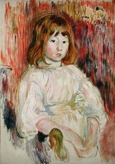 Berthe Morisot - Portrait of Marcelle