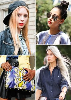 Inspiration beauté: 100 % street style
