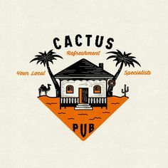 Amazing vintage style ... Incredible idea of me for cactus clothing. For work or commission, contact me guys .. instagram yudo_sajiwo or email me ....  #vintage #handmade #nature #design #logo #typograhpy #outdoor #graphic #inspiration #yudosajiwo #brand #beach #branding #draw #drawing #ilustration #typedaily #worldwide #clothing #apparel