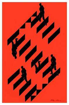 "Shigeo Fukuda -  The Letter ""S"""