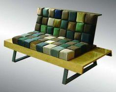 Asian Fashion Furniture: The Kimono Chair Makes Use of Ancient Fabrics. By Kimono New York