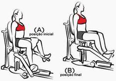 exercício na Cadeira Adutora para conseguir pernas torneadas