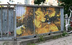 Outdoor illusion painted by Zebrating-Art