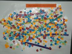 Collage de confeti per carnestoltes