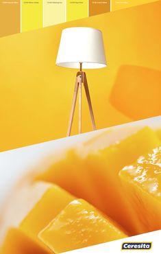 #CeresitaCL #PinturasCeresita #Color #Living #Tendencia #Pintura #Decoración #Energía #Espacios *Códigos de color sólo para uso referencial. Los colores podrían lucir diferentes, según calibrado de su monitor Tripod Lamp, Monitor, Lighting, Home Decor, Spaces, Pintura, Homemade Home Decor, Lights, Lightning