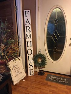 Hello Fall Porch Sign Wood Front Door Sign Vertical Reclaimed Cedar Handmade Farmhouse Fall Leaves Weathered wood 36 tall 3 FT tall