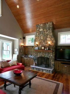 Traditional Family Room Grey Design, Pictures, Remodel, Decor and Ideas - page 20