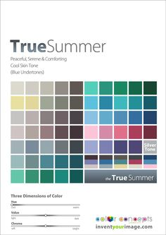 Colors for a True Summer Man www.inventyourimage.com
