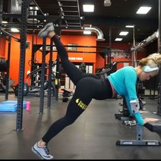 """3,147 Likes, 56 Comments - Jen Heward On YouTube (@jenhewardfit) on Instagram: """"Booty and cardio  #jhcableKBP #jhSJxKB  Exercise 1 - changing up the kickback by adding in a…"""""""