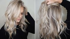 Blond hair colors - choose your ideal one! My Hairstyle, Pretty Hairstyles, Hair Color And Cut, Hair Colour, Blonde Fall Hair Color, Perfect Blonde Hair, Winter Blonde, Great Hair, Blonde Highlights