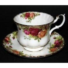Plato Y Taza De Te - Porcelana Inglesa Royal Albert