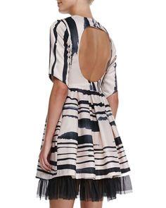 The Cap Cana Tulle-Hem Dress