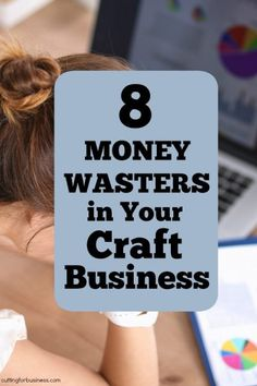 8 Money Wasters in Your Craft Business - Cutting for Business Business Notes, Business Help, Etsy Business, Craft Business, Business Ideas, Craft Show Displays, Craft Show Ideas, Craft Show Booths, Display Ideas