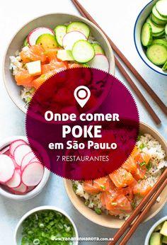 Vem do Havaí a novidade gastronômica do momento. Saiba onde comer Poke em São Paulo – confira aqui 7 restaurantes.