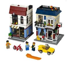 LEGO 31026 Creator Bike Shop & Café. Check out our 4.76% promotion off retail price!  Enjoy a further $10 discount if you self collect your purchase! Delivery within Singapore. LEGO® is a trademark of The LEGO Group of companies. Chucklingbaby.com is independent of The LEGO Group. All the product images are copyright of The LEGO Group.