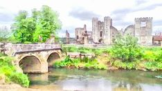 Cowdray Ruins by Gareth Parkes