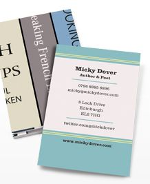 Preview image of Business Card design 'Shelve it!'