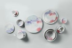 tableware // Format Unsealed Pattern by Inesa Malafej for Rosenthal