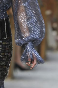 Chanel Haute Couture Fall 2013 – I love this sleeve style and fabric